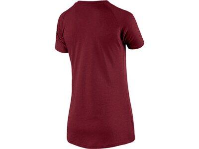 PUMA Damen T-Shirt A.C.E. Raglan Tee Rot