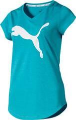 PUMA Damen T-Shirt Heather Cat Tee