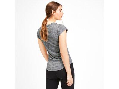 PUMA Damen T-Shirt Heather Cat Grau