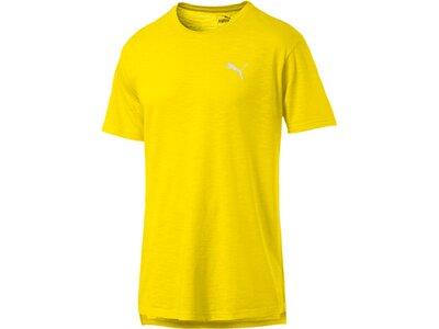 PUMA Herren T-Shirt Energy SS Tee Gelb