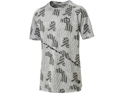 PUMA Herren T-Shirt BND Tech SS Tee Silber