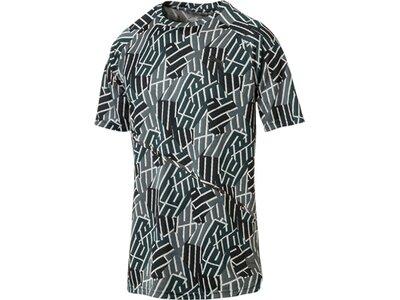 PUMA Herren T-Shirt BND Tech SS Tee Grau