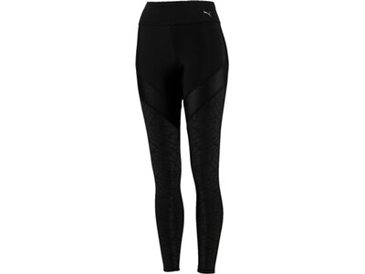 PUMA Damen Tight Show Off Tight Schwarz