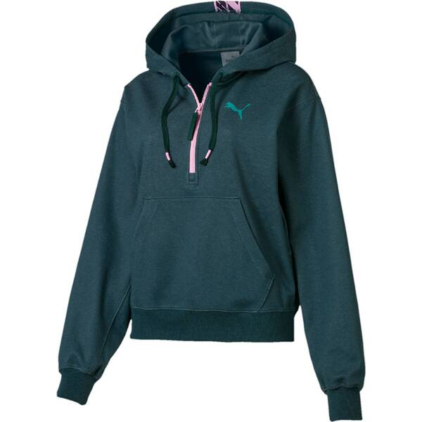 PUMA Damen Hoodie Feel It Cover up