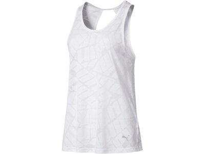 PUMA Damen T-Shirt Show OffTank Weiß