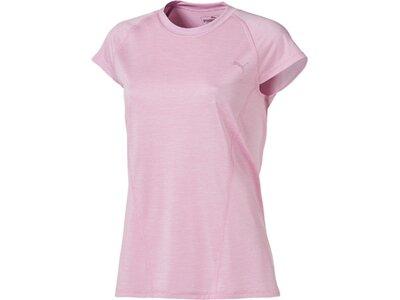 PUMA Damen T-Shirt DeLite Tee Silber