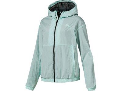 PUMA Damen Jacke Bold Wind Jacket Silber