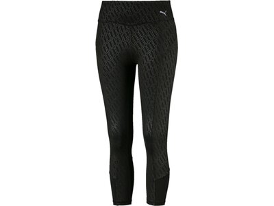 PUMA Damen 3/4 Tight Bold Graphic Schwarz