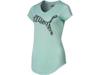 """PUMA Damen T-Shirt """"Heather Cat Tee"""" Silber"""
