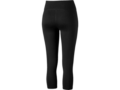 PUMA Damen 3/4 Tight Yogini Logo 3/4 Tight Schwarz