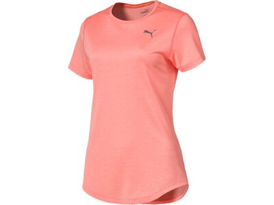 PUMA Damen T-Shirt Epic Heather S/S Tee Pink