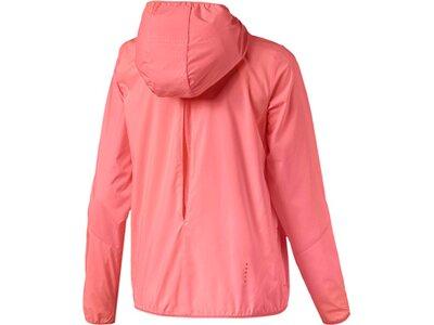PUMA Damen Laufjacke Ignite Hooded Wind Jacket Pink