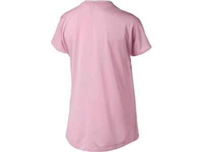 PUMA Damen T-Shirt Explosive CAT Tee Pink