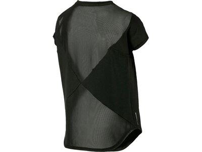 PUMA Damen Trainingsshirt Kurzarm Schwarz