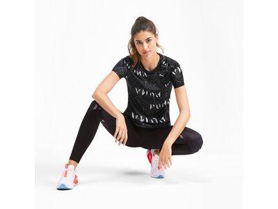 PUMA Damen T-Shirt Last Lap Graphic Tee Schwarz