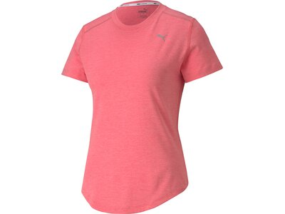 PUMA Damen Shirt Ignite Heather SS Pink