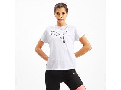 PUMA Damen T-Shirt PUMA Cat Weiß