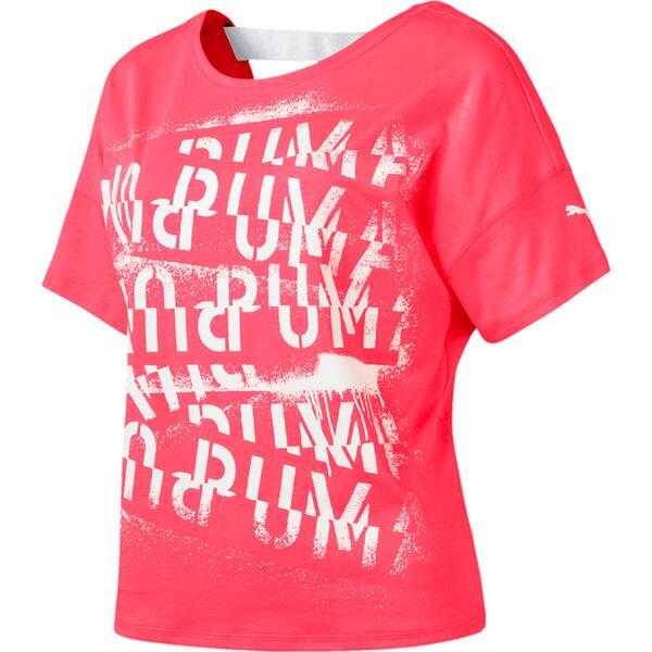 PUMA Damen T-Shirt HIT Feel It Tee
