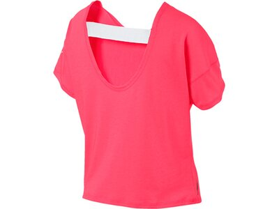 PUMA Damen T-Shirt HIT Feel It Tee Pink