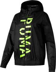 PUMA Damen Windbreaker-Jacke Be Bold Graphic Woven Jacket