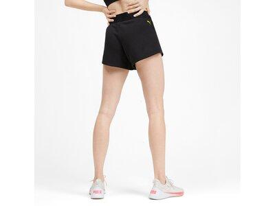PUMA Damen Shorts Logo 3` Short Schwarz