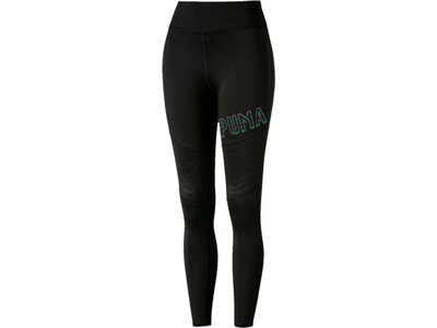 PUMA Damen Tights Studio Q4 Tight Schwarz