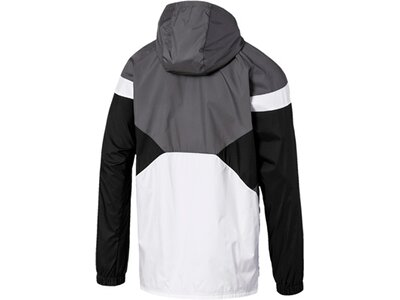 PUMA Herren Windbreaker-Jacke Reactive Reversible Jacket Schwarz