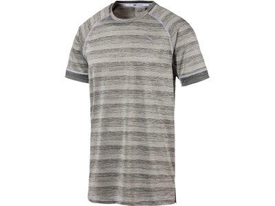 PUMA Herren Trainingsshirt GetFast Thermo-R+ Tee Grau
