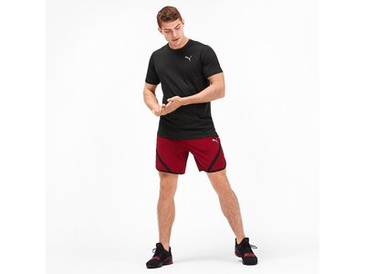 PUMA Herren Trainingsshirt Ignite Heather Tee Schwarz