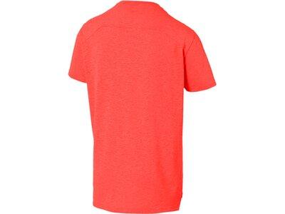 PUMA Herren T-Shirt PUMA SS Graphic Tee Rot