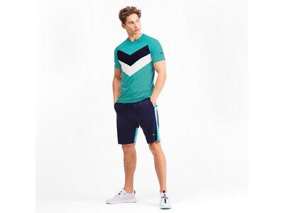 PUMA Herren T-Shirt Reactive Color Block Tee Blau