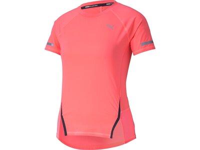 PUMA Damen Shirt Runner ID Pink