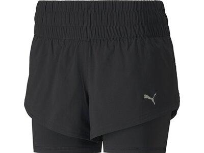 PUMA Damen Shorts Last Lap 2in1 Schwarz
