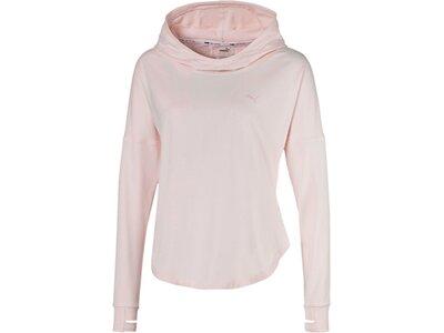 PUMA Damen Kaputzenpullover Studio Lace pink