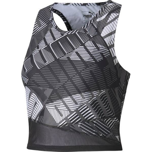 PUMA Damen Top Be Bold AOP Crop