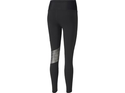 PUMA Damen Trainingstights Feel It Mesh Schwarz