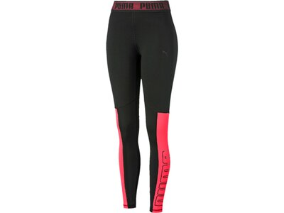PUMA Damen Logo Elastic 7/8 Tight Schwarz