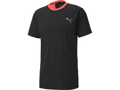 PUMA Herren Shirt Last Lap Color Block Schwarz