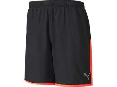 PUMA Herren Shorts Last Lap Color Block Schwarz