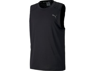PUMA Herren Shirt Power Thermo R Schwarz