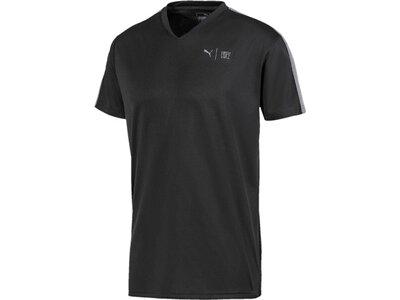 PUMA Herren Shirt First Mile SS Schwarz