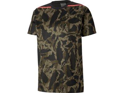 PUMA Herren Shirt First Mile Camo Grau