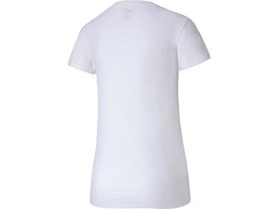 PUMA Damen T-Shirt Metal Splash Deep V Pink