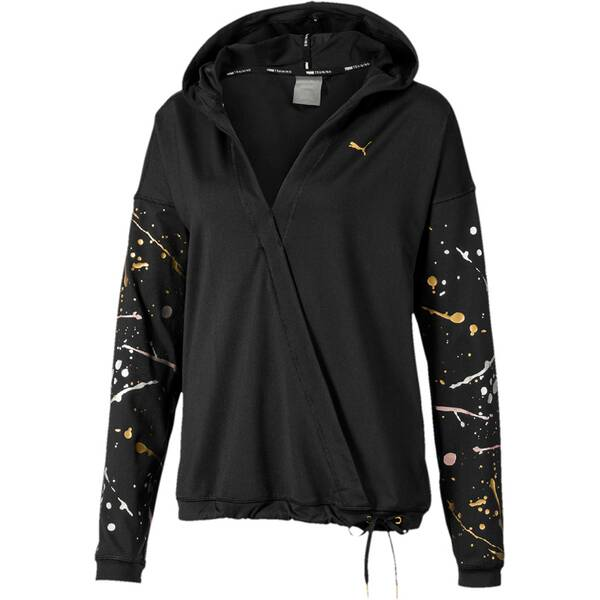 PUMA Damen Metal Splash Lux Wrap Hood