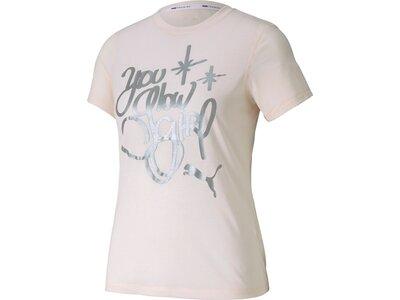 PUMA Damen Shirt Do You Graphic Grau