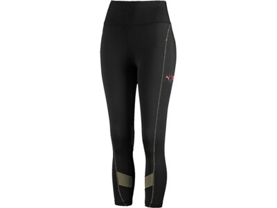 PUMA Damen Tight First Mile 3/4 Eclipse Schwarz