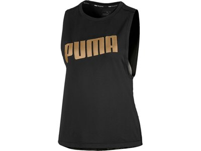PUMA Damen Shirt Metal Splash Adjustable Schwarz