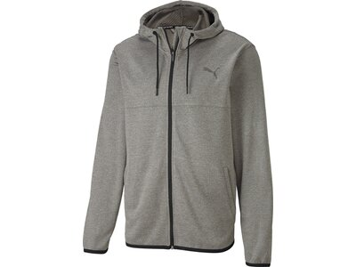 PUMA Herren Power Full Zip Knit Jacke Grau