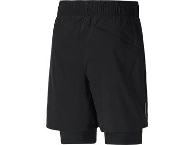 PUMA Herren Shorts Run Favorite Woven 2in1 7 Schwarz