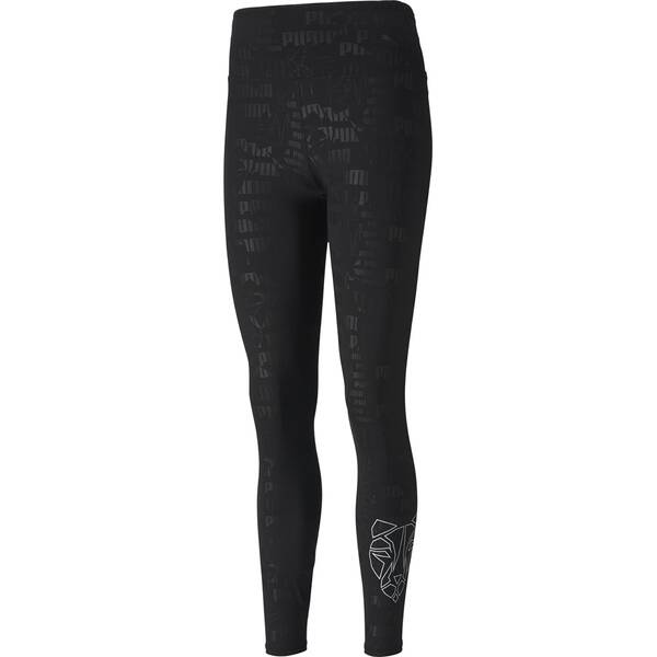 PUMA Damen Tight Train Embossed High Rise 7